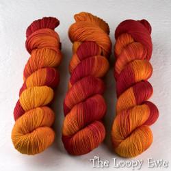 Wollmeise, Pure // Campari Orange at  The Loopy Ewe
