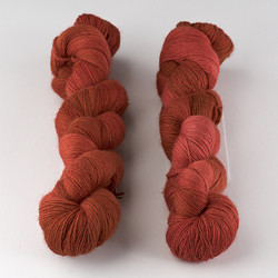 Malabrigo, Lace // Red Java (79) at  The Loopy Ewe