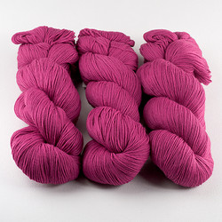 Cascade, Heritage Sock - Solids // 5617 Raspberry at  The Loopy Ewe