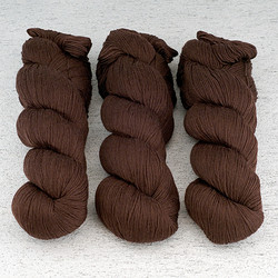 Cascade, Heritage Sock - Solids // 5639 Brown