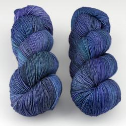 Malabrigo, Sock // Azules B (856) at  The Loopy Ewe