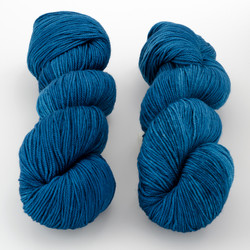 Dream in Color, Smooshy with Cashmere // Atomic Blue at  The Loopy Ewe
