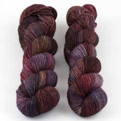 Dream in Color, Smooshy with Cashmere // Pinot at  The Loopy Ewe