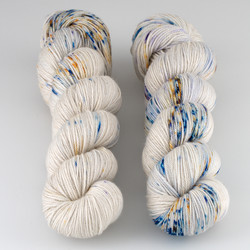 Dream in Color, Smooshy with Cashmere // Whisper at  The Loopy Ewe