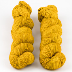 Dream in Color, Smooshy with Cashmere // Amber Glass at  The Loopy Ewe