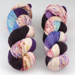 Dream in Color, Smooshy with Cashmere // Life of the Gods at  The Loopy Ewe