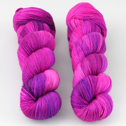 Dream in Color, Smooshy with Cashmere // Universe is Yours at  The Loopy Ewe