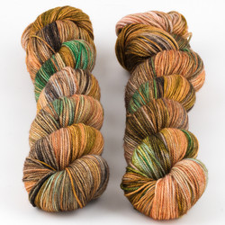 Dream in Color, Smooshy with Cashmere // Grand Canyon at  The Loopy Ewe