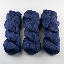 Cascade, Heritage - Silk // 5603 Marine Blue at  The Loopy Ewe