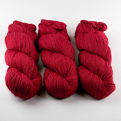 Cascade, Heritage - Silk // 5607 Red at  The Loopy Ewe