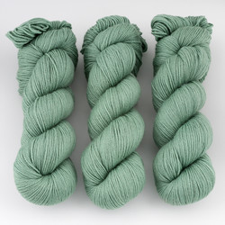 Cascade, Heritage - Silk // 5731 Loden Frost at  The Loopy Ewe