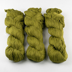 Cascade, Ultra Pima // 3745 Bright Olive at  The Loopy Ewe
