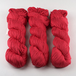 Cascade, Ultra Pima // 3751 Poppy Red at  The Loopy Ewe