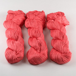 Cascade, Ultra Pima // 3767 Deep Coral at  The Loopy Ewe