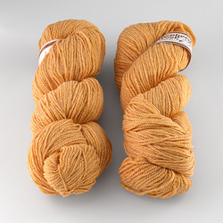 Stonehedge Fiber Mill, Shepherd's Wool Worsted // Cantaloupe at  The Loopy Ewe