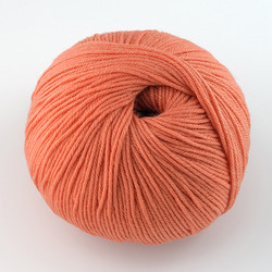 Cascade, 220 Superwash // 827 Coral at  The Loopy Ewe