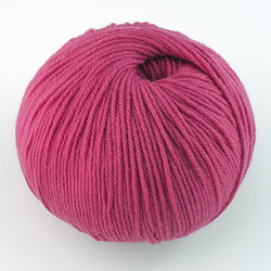 Cascade, 220 Superwash // 837 Berry Pink at  The Loopy Ewe