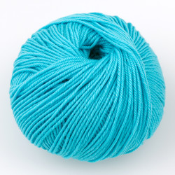 Cascade, 220 Superwash // 227 Bachelor Button at  The Loopy Ewe