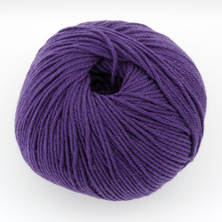 Cascade, 220 Superwash // 257 Violet Indigo at  The Loopy Ewe