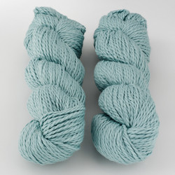 Blue Sky Fibers, Worsted Cotton // (628) Azul at  The Loopy Ewe