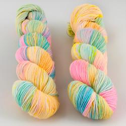 Hedgehog Fibres, Sock Yarn // Foam at  The Loopy Ewe