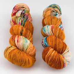 Hedgehog Fibres, Sock Yarn // Guppy at  The Loopy Ewe