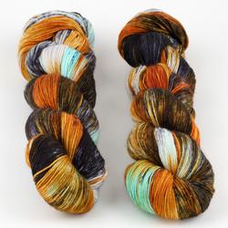 Hedgehog Fibres, Sock Yarn // Brigid at  The Loopy Ewe