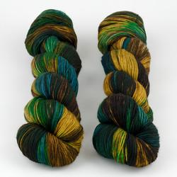 Hedgehog Fibres, Sock Yarn // Nutmeg at  The Loopy Ewe