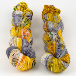 Hedgehog Fibres, Sock Yarn // Zenith at  The Loopy Ewe