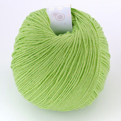 Universal Yarn, Bamboo Pop // Lime Green (108) at  The Loopy Ewe