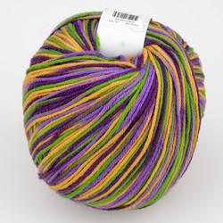 Universal Yarn, Bamboo Pop // Grape Garden x (206) at  The Loopy Ewe