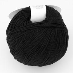 Universal Yarn, Bamboo Pop // Black (112) at  The Loopy Ewe