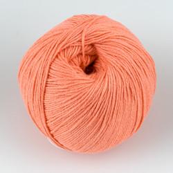 Universal Yarn, Bamboo Pop // Coral (122) at  The Loopy Ewe
