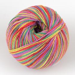 Universal Yarn, Bamboo Pop // Stripe (218) at  The Loopy Ewe