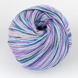 Universal Yarn, Bamboo Pop // Blueberry Swirl (221) at  The Loopy Ewe
