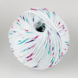 Universal Yarn, Bamboo Pop // Princess Dots (303) at  The Loopy Ewe