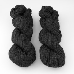 The Fibre Company, Canopy Fingering // Obsidian at  The Loopy Ewe