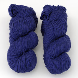 Cascade, 220 Superwash Aran // 813 Blue Velvet at  The Loopy Ewe