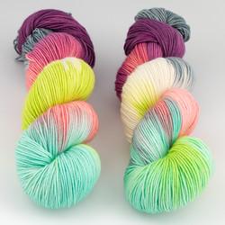 Blue Moon Fiber Arts, Socks that Rock Lightweight // Bellas at  The Loopy Ewe