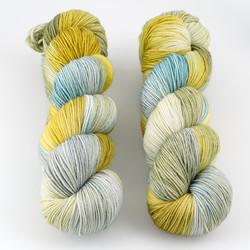 JulieSpins, Euro Sock // Prairie at  The Loopy Ewe