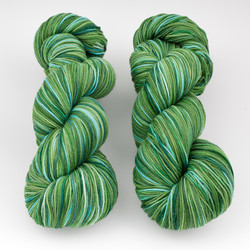 Abstract Fiber, Super Sock+ // Envy at  The Loopy Ewe
