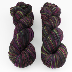 Abstract Fiber, Super Sock+ // Pinot Noir at  The Loopy Ewe