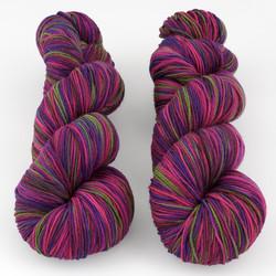 Abstract Fiber, Super Sock+ // Rhubarb at  The Loopy Ewe