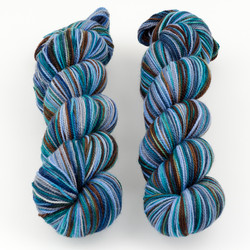 Western Sky Knits, Aspen Sock with Nylon // Eagle Mountain at  The Loopy Ewe
