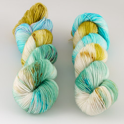 Western Sky Knits, Aspen Sock with Nylon // Gamble Garden at  The Loopy Ewe