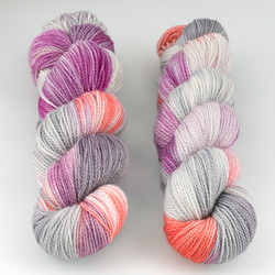 JulieSpins, M375 // Silver Carnation at  The Loopy Ewe