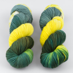 Blue Moon Fiber Arts, Monthly Exclusive Colorway // Aspens - Mediumweight at  The Loopy Ewe