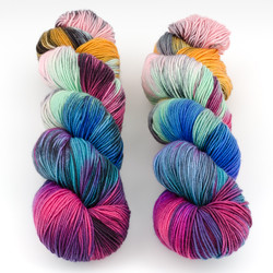 Monthly Exclusive Colorway // Rags To Riches - Lightweight at  The Loopy Ewe