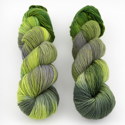 Monthly Exclusive Colorway // Greenery - Lightweight at  The Loopy Ewe