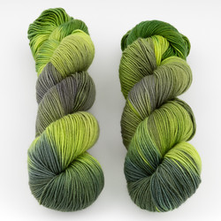 Monthly Exclusive Colorway // Greenery - Mediumweight at  The Loopy Ewe